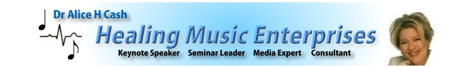 Healing Music Enterprises Blog header image 2