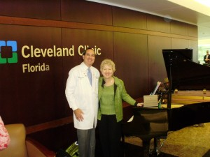 I was invited to the Cleveland Clinic Florida to give a presentation on Music with Surgery.