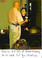 Dr. Alfred Tomatis worked with Alice and Don in April 1991